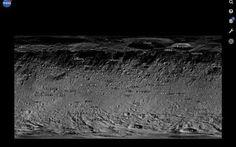 Fate un viaggio virtuale sull'asteroide gigante Vesta grazie all'applicazione web Vesta Trek della NASA! #applicazioni #web