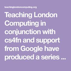 Teaching London Computing in conjunction with cs4fn and support from Google haveproduced a series of fun activities and booklets based around puzzlesthat teach computing topics and computational thinkingfor use in the classroom, suitable for all ages. Do the puzzles and develop computational thinking skills as well as learn about some core computing topics. Tips from… Computational Thinking, Thinking Skills, Fun Activities, Booklet, Puzzles, Core, Classroom, London, Teaching