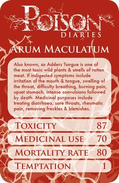 Poisons from plants