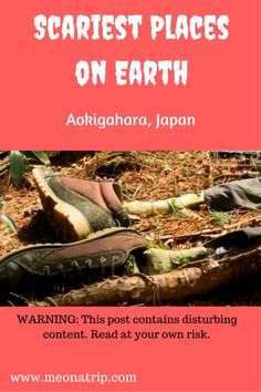 Aokingahara, or the Suicide Forest in japan, is one of the scariest places on earth. Why are hundreds of people compelled to hang themselves here? Is it just a sad commentary on japan's high suicide rates? or is there something more evil and sinister going on?