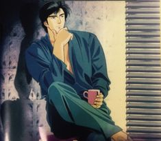 City Hunter: Death Of The Vicious Criminal Ryo Saeba Special Film Anime, Manga Anime, Anime Art, City ​​hunter, Nicky Larson, Shark Craft, Hunter Movie, Angel Guide, 357 Magnum