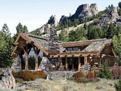 love log homes