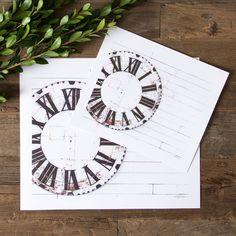 Farmhouse Clock Print | Magnolia Market | Wall Decor | Living Room | Chip & Joanna Gaines | Waco, TX