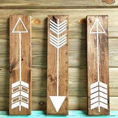 Fully Customizable set of 3 wall arrows. Rustic from AnnieLaneBoutique on Etsy. Arrow Decor, Rustic Walls, Crates, Rustic Wedding, Wedding Decorations, Gallery Wall, Wall Decor, Directional Signs, World's Biggest