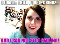 Like to #smile? You may want to try #PurpleGrindz in your next #smoothie #acaibowl #oatmeal or batch of #pancakes for added complete #protein plus 13 #superfoods for added #vitamins #minerals #phytonutrients and #antioxidants. #Blend & #Thrive! Click to learn more!