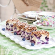 Blueberry Buckle...always wanted at our Sunday School brunch!