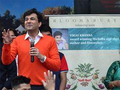 Chef Vikas Khanna... Love your smile