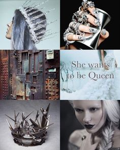 Evangeline Samos, House Samos, Megnetron, the silver elite, the girl who dreamed to be Queen! I'm on the fence about Evangeline, I think book 3 of RQ will be my determining factor.