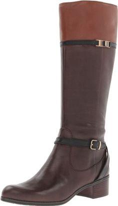 6d26483643b1 Amazon.com  Bandolino Women s Cay Riding Boot  Shoes Wide Calf Boots