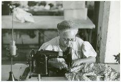 In the Everglades needlework factory, San Juan, Puerto Rico. Jack Delano, 1942.