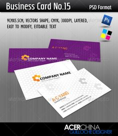 Business card simple logos fonts and places reheart Image collections