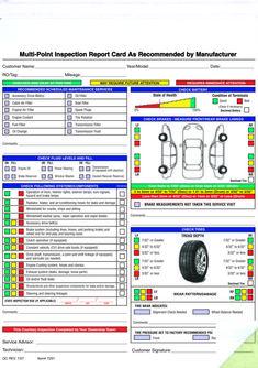 13 Best Vehicle Inspection Images Vehicle Inspection Car