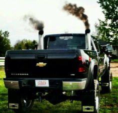 D D B C on Duramax Diesel Blowing Smoke