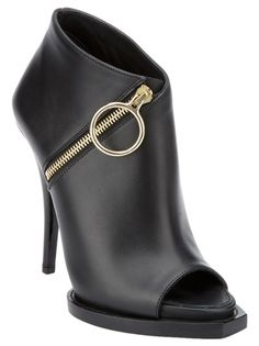GIVENCHY - open toe bootie 6