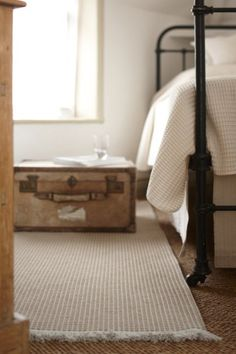 Banbury Almond Wool Rug. Roger Oates - #Upcycle