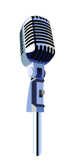 #microphone #Vector #detailing by Sisil