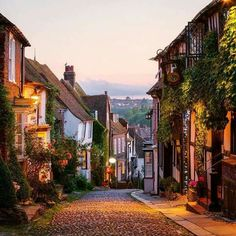 Mermaid street, Rye East Sussex, U.K
