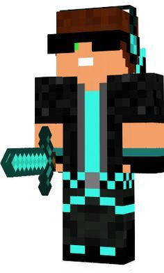 An awesome minecraft skin!