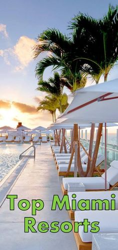 1 Hotel South Beach Miami Top Miami Beach Resort Reviews - Inspect the top family, all inclusive, adult and luxury resorts and hotels in Miami. Miami travel and vacation information. #Miami Top Miami Resorts
