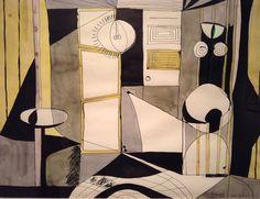 Robert Motherwell (1915 - 1991) american painter, printmaker and editor