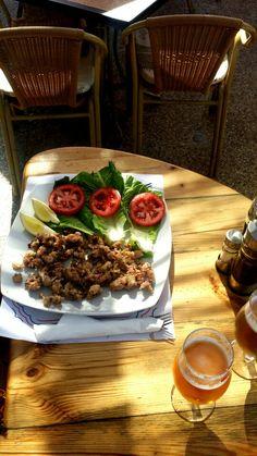 Chipirones, Bar San Telmo chips