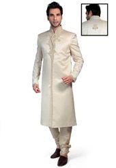 cheap mens clothes online engagement dresses dhoti kurta design cream jacquard beads sherwani