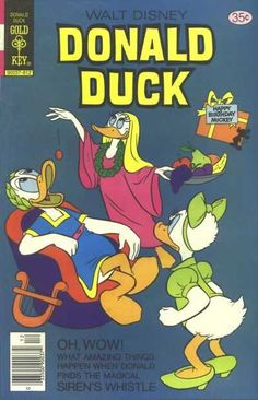 Donald Duck #202 - The Siren's Whistle (Issue)