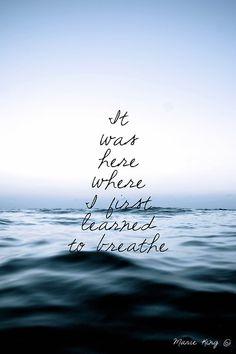 Y asi, aprendi a respirar...