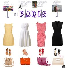"""""""when in... Paris"""" by andreearucsandraedu on Polyvore"""