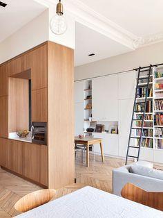 Великолепие французского дизайна в эклектичном интерьере в Париже | Пуфик - блог о дизайне интерьера
