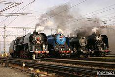 Steam Locomotive, Transportation, Railings, Train, Europe