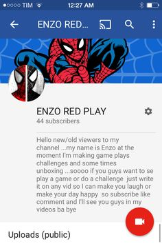 Hi there I just started YouTube do I'm looking for subscribers to join my Chanel Enzo red play and join the red play team so go to my Chanel leave a comment and like subscribe I'm doing gameplays/ lets plays of call of duty so  If you like call of duty subscribe tell your friends / family members about my Chanel and if you want  To request a game just leave a comment so see you guys In my videos ...bye
