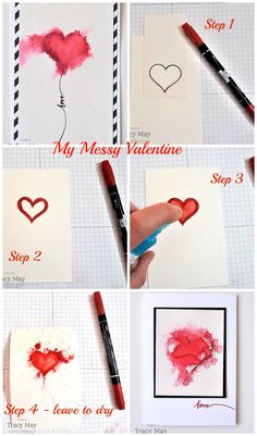 Valentine's Day Cards using Stampin' Up products UK Demonstrator Tracy May
