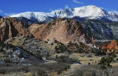 Stunning Winter Hikes in North America:  Garden of the Gods, Colorado Springs, Colorado USA
