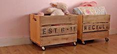 Easy, Children's DIY Storage Ideas
