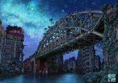 独自の荒廃した都市を描くイラストレーター東京幻想。 見慣れた街の風景がまるで核戦争でもあったかのように廃墟化した様は、なぜか幻想的で郷愁さえおぼえる不思議な作風です。...