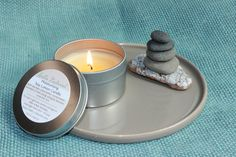 Spa Experience Soy Lotion Candle with by HelloNaturalShop on Etsy