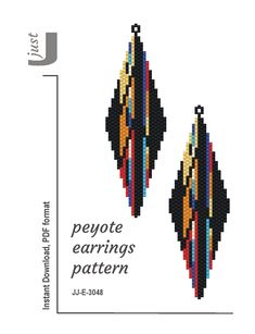 seed bead jewelry patterns for beginners Bead Embroidery Patterns, Peyote Patterns, Beading Patterns, Loom Patterns, Knitting Patterns, Mosaic Patterns, Crochet Patterns, Art Patterns, Seed Bead Jewelry