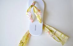 get rid of the cheap plastic and still have a cute flip flop