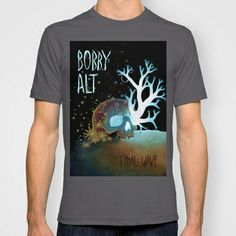 Tidal Wave (Bobby Alt) T-shirt by DBatsheva for Bobby Alt - $22.00