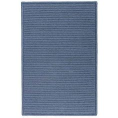 Simply Home Solids Lake Blue Rug Size: Runner 2' x 5' by Colonial Mills. $100.00. H041R024X060S Size: Runner 2' x 5' Features: -Technique: Braided / Cablelock braid.-Material: 100pct Polypropylene.-Origin: United States.-Vibrant indoor / outdoor reversible rugs.-Perfect for kids rooms, play areas, or to just add a little spice to a room.-22'' x 34''.-27'' x 46''.-42'' x 66''.-5' x 7'.-6' x 9'.-8' x 10'.-9' x 12'.-11' x 14'.-2' x 5' runner.-2' x 7' runner.-2' x 9' r...