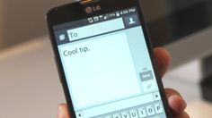 On a smartphone, you should complete each sentence bytapping the space key twice.  This shortcut accomplishes three things: It creates a period, adds a space, and automatically capitalizes the next word you type. It saves you the trouble of finding the period (which, on the iPhone, is on a different keyboard layout), hitting the space key, and then manually capitalizing the next letter.