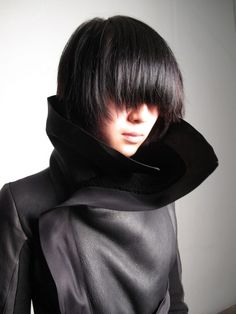 katisque:    Incredibly architectural and lux piece from Rick Owens.    (via austereprint)