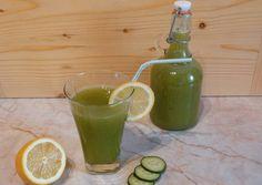 Uborkás-mentás-citrusos limonádé Lime, Fruit, Food, Smoothie, Mint, Limes, Essen, Smoothies, Meals