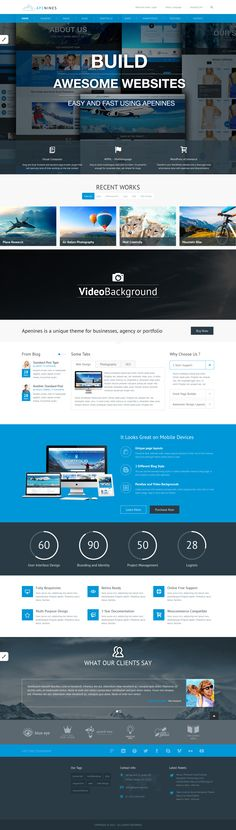 Apenines is a responsive Multipurpose #WordPress #Theme, suited for business…