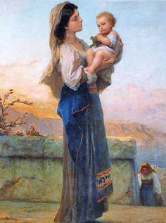 Adolphe Jourdan's Madonna and Child by Motivators 2010, via Flickr
