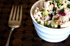 Cranberry Walnut Chicken Salad has it all—tang, crunch, sweet and salty (Smitten Kitchen)