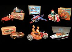 Rare and Vintage Space & Robot Toys. We specialize in buying and and selling unusual toys for international collectors