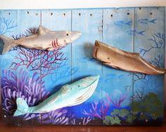 Quadro Escultura - Fundo do Mar