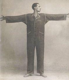 La Tuta  Thayat  1920 secondo Ernesto michahelles pubblica il carta modello per la tuta fai da te